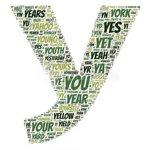 engelse woorden met een Y